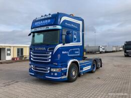 SCANIA - R520 6X2+FULL AIR+HÜDRAULIKA (2014)