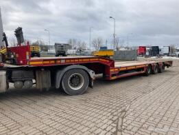 FAYMONVILLE - 3 axel low loader with ramps (2013)